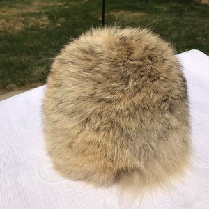 Vintage Real Coyote Fur Hat